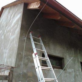 instalace hromosvodu