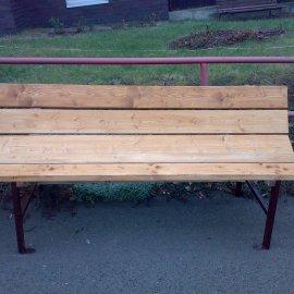 zhotovení lavice