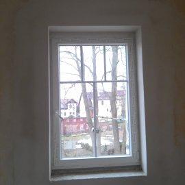 nová okna a vymalování