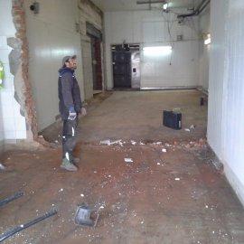 vybourání původní podlahy