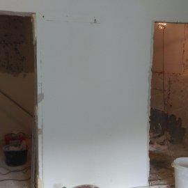 Praha 5 - Košíře -  Rekonstrukce koupelny a WC - příprava