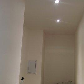 Praha 5 - Košíře -  Rekonstrukce koupelny a WC - bodové svítidlo