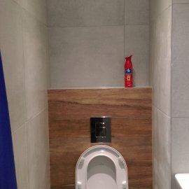 Praha 5 - Košíře -  Rekonstrukce koupelny a WC - mísa