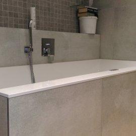 Praha 5 - Košíře -  Rekonstrukce koupelny a WC - vana