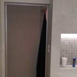 Praha 5 - Košíře -  Rekonstrukce koupelny a WC - dveře