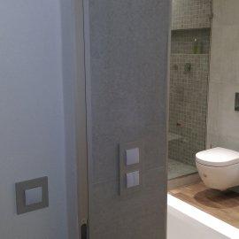 Praha 5 - Košíře -  Rekonstrukce koupelny a WC - vypínač