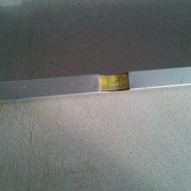 Řitka - RD - podlahy - vodováha