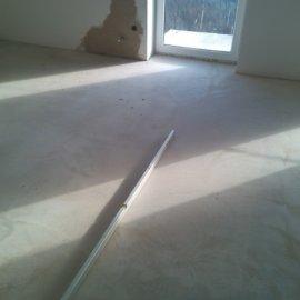 Řitka - RD - podlahy