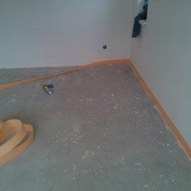 Řitka - RD - podlahy - dilatace