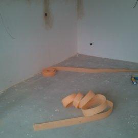 Řitka - RD - podlahy - obvodová dilatace