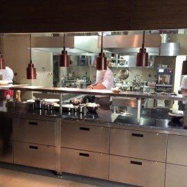 Kompletní rekonstrukce restaurace AROMI - kuchyň