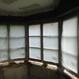 Rekonstrukce bytu na podkovce - okna