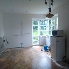 Rekonstrukce bytu na podkovce - kuchyň