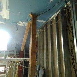 sádrokartonové příčky a podhledy - konstrukce