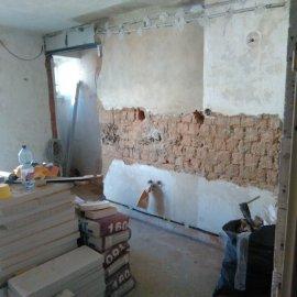 Rekonstrukce Sokolská - bourací práce