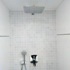 Rekonstrukce Sokolská - podomítková sprcha