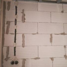 Rekonstrukce bytu Dejvice - ytongová příčka