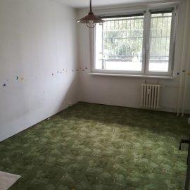 Rekonstrukce Mokrá - původní pokoj
