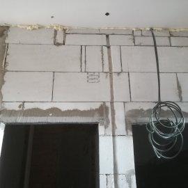Kompletní rekonstrukce bytu Praha Nusle - vyzdívky z ytongu