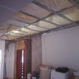 Kompletní rekonstrukce bytu Praha Nusle - konstrukce sádrokatonu