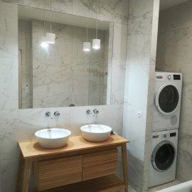 Kompletní rekonstrukce bytu Praha Nusle - koupelna