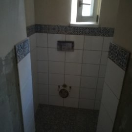 kompletní rekonstrukce bytu Praha 3 - wc