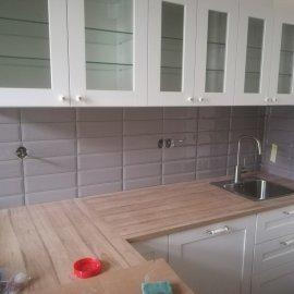 kompletní rekonstrukce bytu Praha 3 - kuchyně