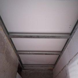 kompletní rekonstrukce panelákového bytu - knstrukce SDK