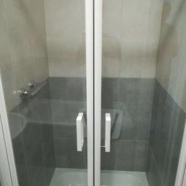 kompletní rekonstrukce panelákového bytu - sprchový kout