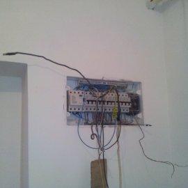 elektroinstalační rozvody