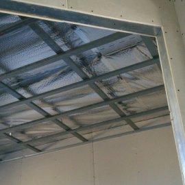 rekonstrukce RD - konstrukce sádrokartonového podhledu