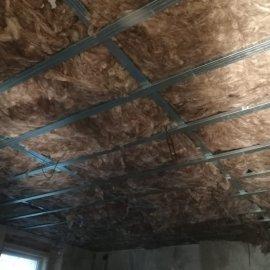 Rekonstrukce dvou bytů - izolace podhledu