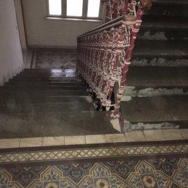 Rekonstrukce dvou bytů - umytá chodba