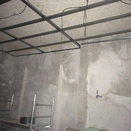 Rekonstrukce dvou bytů - sádrokartonová konstrukce