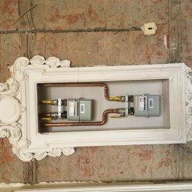 Rekonstrukce dvou bytů - nové plynoměry