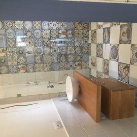 rekonstrukce bytu v Praze 10 - sprchový kout