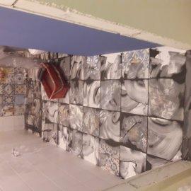 rekonstrukce bytu v Praze 10 - spárování podlahy