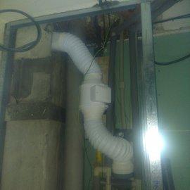 Rekonstrukce 3+kk Praha 10 - radiální ventilátor