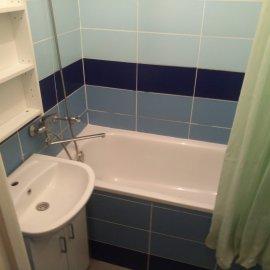 Rekonstrukce 3+kk Praha 10 - původní koupelna