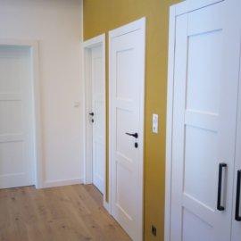 Montáž bazfalcových interiérových dveří