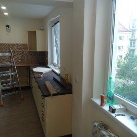 kompletní rekonstrukce bytu v cihlovém domě