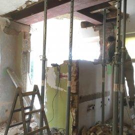 Částečná rekonstrukce vily