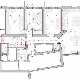 Architektonické práce Rybálkova - elektro