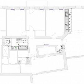 Architektonické práce Rybálkova - TZB