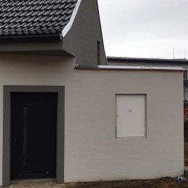 Rekonstrukce tří bytových jednotek v RD - fasáda