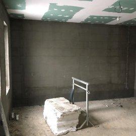Rekonstrukce tří bytových jednotek v RD - sádrokarton
