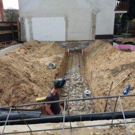 Hodonín - Výstavba polyfunkčního domu - začátek výstavby
