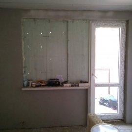 Rekonstrukce bytu v Bráníku - omítka