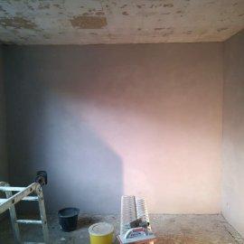 Rekonstrukce bytu v Bráníku - štuková omítka