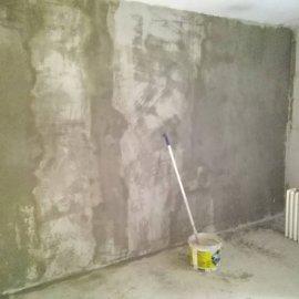 Rekonstrukce bytu v Bráníku - jádrová omítka